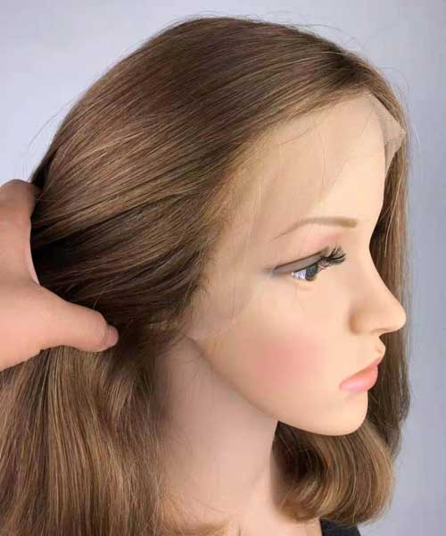 Jewish wig with lace front 1